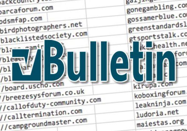 over 800,000 user account details stolen from vulnerable forums running vbulletin - vbulletin 600x420 - Over 800,000 user account details stolen from vulnerable forums running vBulletin