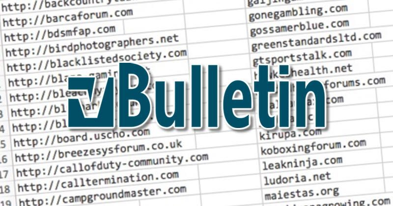 - vbulletin 800x420 - Over 800,000 user account details stolen from vulnerable forums running vBulletin