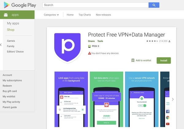- android onavo 1 - Facebook pulls its VPN from the iOS App Store after data-harvesting accusations