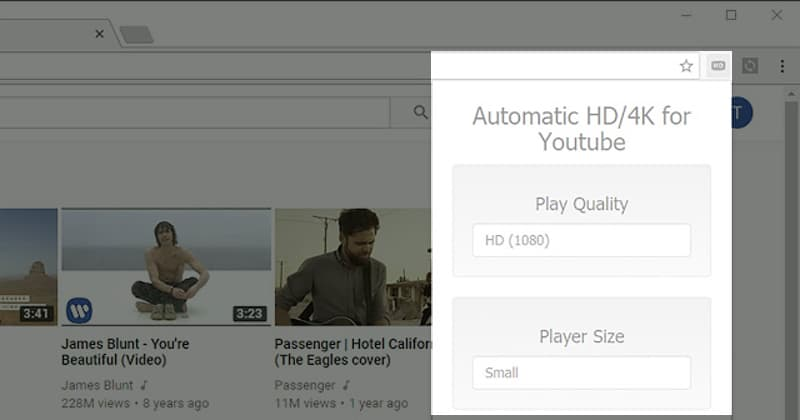- 4k - Automatic 4K/HD for Youtube extension pulled from Chrome Store for pop-up ad abuse