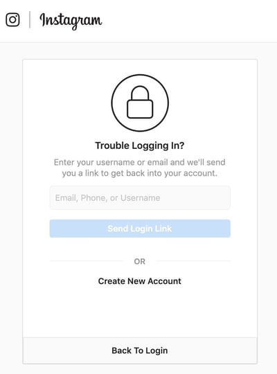 - instagram trouble login - How any Instagram account could be hacked in less than 10 minutes