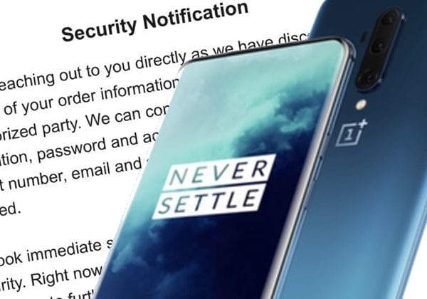 - Hackers attack OnePlus again this time stealing customer details 600x420 - Hackers attack OnePlus again – this time stealing customer details
